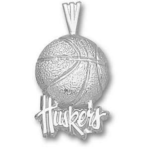 University of Nebraska Huskers Basketball Pendant