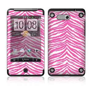 HTC Aria Skin Decal Sticker   Pink Zebra