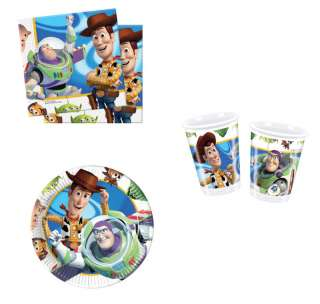 Toy Story HUGE Party Pack cup plates napkinsTABLEWARE