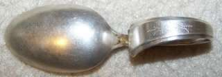 ANTIQUE GORHAM STERLING SILVER PAT. R BABY SPOON