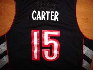 CARTER TORONTO RAPTORS #15 NIKE BASKETBALL JERSEY LARGE SEWN L