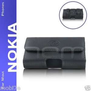 PREMIUM LEATHER POUCH CASE FOR NOKIA PHONES COVER WITH BELT CLIP LOOP