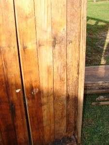 Large Antique Oak 7 Door Ice Box Double Wall Reclaimed Wood 86x61x31