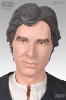 STAR WARS Han Solo Harrison Ford Statue Figure Sideshow New