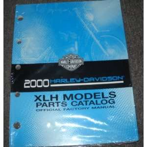 2000 Harley Davidson XLH Models Parts Catalog Manual