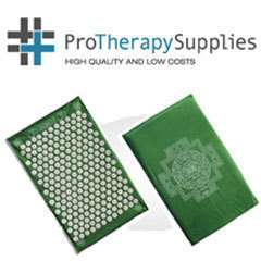 Shakti Mat Spiked Acupressure Massage Pad   Green