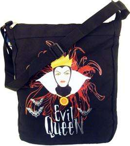 EVIL QUEEN GRIMHILDE SLING BAG SNOW WHITE DISNEY DWARF