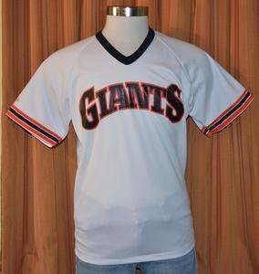 SAN FRANCISCO GIANTS Rawlings VINTAGE BASEBALL JERSEY MENS & WOMENS