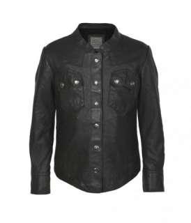Childrens Leather Rock Shirt, Children, Outerwear, AllSaints