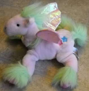 Animal Alley Stuffed Plush PINK PONY Horse w/ wings