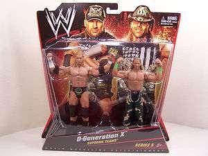 WWE WWF Shawn Michaels Triple H D Generation X Mattel DX (2 Pack