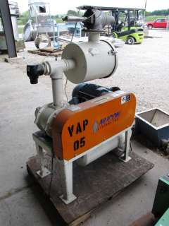 USED 10 HP ROOTS 45 U RAI POSITIVE DISPLACEMENT BLOWER