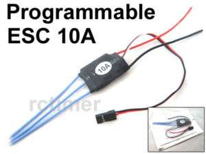 New RC Timer ESC 10A Brushless Motor Speed Controller