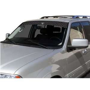 Oakland Raiders NFL Logo Visorz Front Windshield Covering by Glass