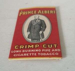 Vintage English Cigarettes Rolling Papers PRINCE ALBERT