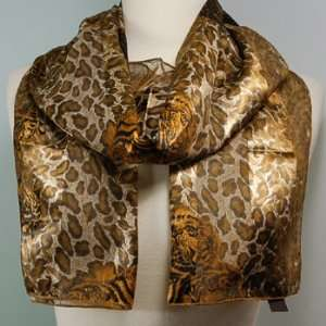 Scarf ~ Tiger/Leopard Print ~ 13 x 60 Everything Else