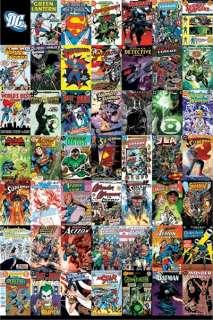 COMIC BOOK POSTER ~ DC CLASSIC COVERS Batman Superman