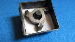 Rockwell Carbide Tipped Shaper Cutter 3/4 Hole w/ 1/2 Bushing 43