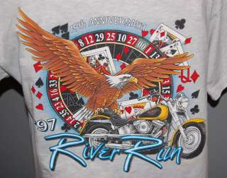 LAUGHLIN RIVER RUN HARLEY DAVIDSON T SHIRT MENS MEDIUM