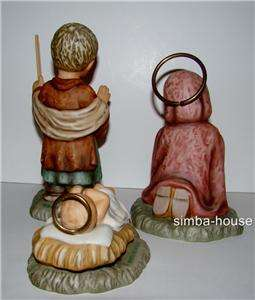 HUMMEL NATIVITY SET   Goebel Figurine JOSEPH, MARY, BABY JESUS