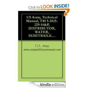 US Army, Technical Manual, TM 5 3825 229 14&P, DISTRIBUTOR, WATER