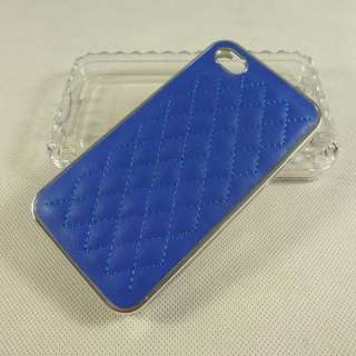 Deluxe leather case for iphone 4 case fashion designer cover 4 4s 4G