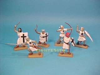 TEUTONIC KNIGHTS CRUSADERS (BLACK CROSS) TOY SOLDIERS