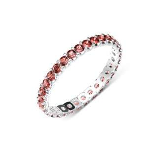 1.00cttw Natural Round Red Garnet (AA+ Clarity,Red Color