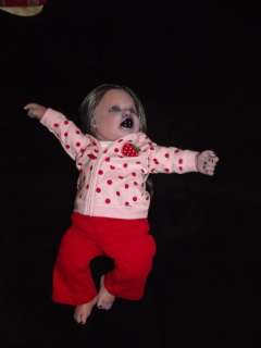 ADOPTED** OOAK GOTH DEMON VAMPIRE BABY HORROR DOLL