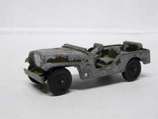 Tootsietoy M 38 1/4 Ton Army Jeep Diecast Model Toy Car |