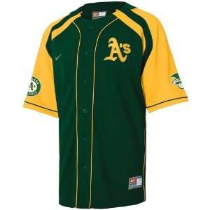 Nike Oakland Athletics Green Hardball Jersey