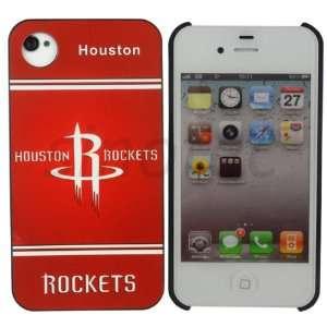 NBA Houston Rockets Team Pattern Plastic Hard Case for