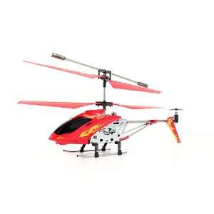 RC Firebird Metal Frame Gyroscope Mini Remote Control Helicopter  Red