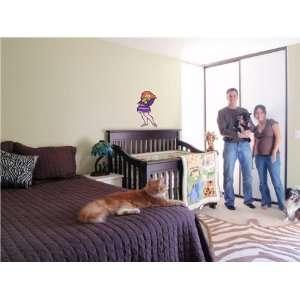 SCOOBY DOO CARTOON WALL COLOR STICKER DISNEY: Home