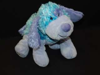 WEBKINZ PLUSH ONLY NO CODE BLUEBERRY CHEEKY DOG  STUFFED
