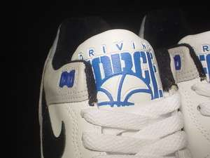 1988 ORIGINAL VINTAGE Nike Air 1 Driving Force Low BASKETBALL WHITE