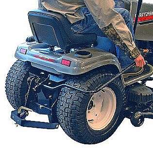 fold up utility trailer craftsman lawn garden tractor