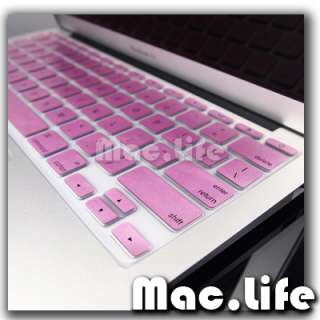 Metallic Pink Keyboard Cover Skin for Macbook Air 11