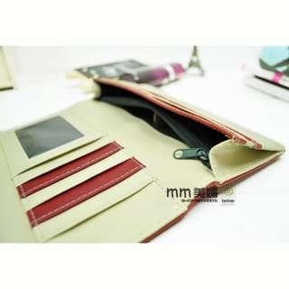 You Pick Ladies Women Solid Color Faux Leather Clutch Long Wallet