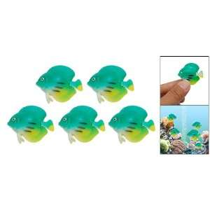 Como Green Plastic Floating Decorative Aquarium Fish: Pet