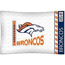 Denver Broncos Bedding Sets   Buy NFL Sheets and Pillows at