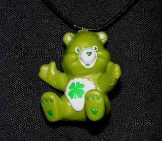 Good Luck Bear Care Bears Charm Pendant Necklace Gift