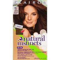 Hair Color Clairol Clairol Natural Instincts 16 Spiced Tea (Light