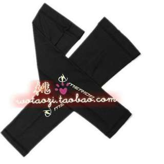 Cycling bicycle bike Sport Arm Warmers Black for Merida