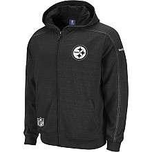 Reebok Pittsburgh Steelers Sideline Static Storm Hooded Sweatshirt