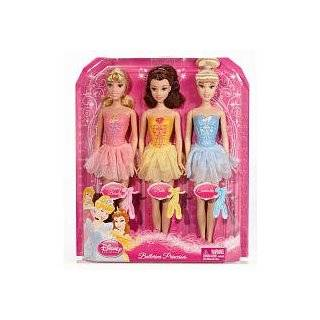 Disney Princess Ballerina Snow White, Cinderella, Ariel