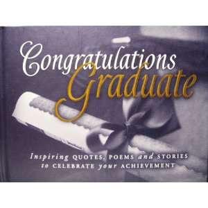 Congratulations Graduate (9781562927707): Hallmark: Books