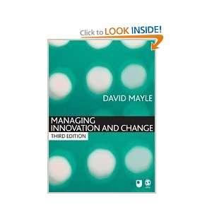 Managing Innovation and Change (Published in association with The Open