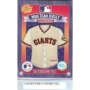 San Francisco Giants Mini Jersey Patch   Official MLB