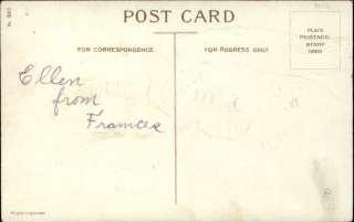 CLAPSADDLE VALENTINE Little Boy Cupid w Heart c1910 Postcard